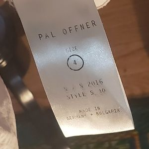 Pal Offner Dresses - Boutique Pat Offner Poplin Sleeveless Dress